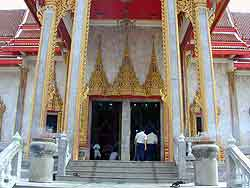 Wat chalong in huket, Thailand